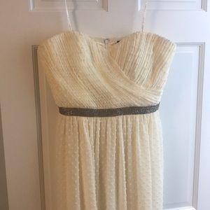 Ivanka Trump Strapless Gown